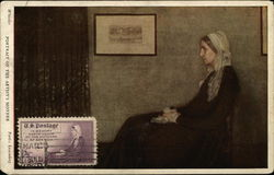 Whistler's Portrait of the Artist's Mother - First Day Cover - Mothers