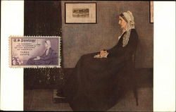 "Whistler's ""Portrait of the Artist's Mother"" First-Day Cover"