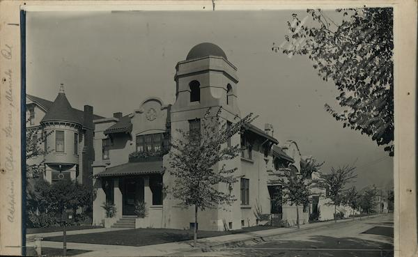 Adelphian Club House Rare Original Photograph Alameda California