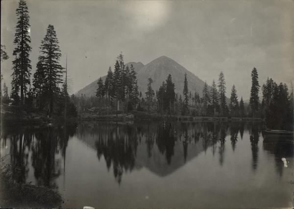 Black Butte from Stewart's Lake Siskiyou County California