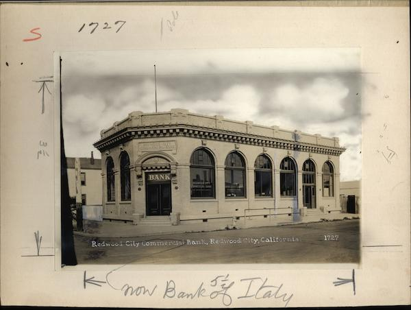 Redwood City Commercial Bank California