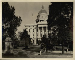 Capital Building Entrance Rare Original Photograph Original Photograph