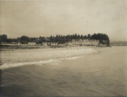 Beach and Hotel at Capitola
