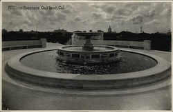 McElroy Fountain Rare Original Photograph