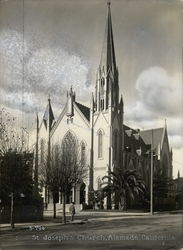 St. Joseph's Church Rare Original Photograph S-794