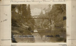 Bridge Over San Lorenzo River Rare Original Photograph