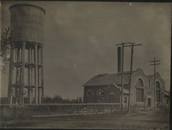 Municipal Water & Electric Light Plant Rare Original Photograph