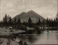 Black Butte near Mt. Shasta