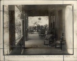 Porch Scene, Brookdale Hotel