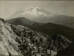 Mt. Shasta from the Crags Original Photograph