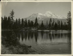 Reservoir Lake and Mt. Shasta