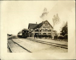 Yosemite Valley RR Depot Original Photograph