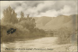 Portneuf River Scene