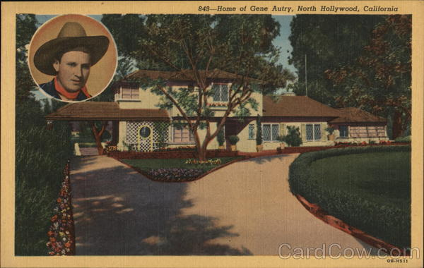 Home of Gene Autry North Hollywood California