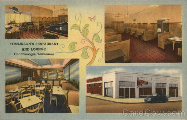 Tomlinson's Restaurant and Lounge Chattanooga Tennessee