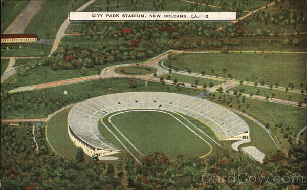 City Park Stadium New Orleans Louisiana