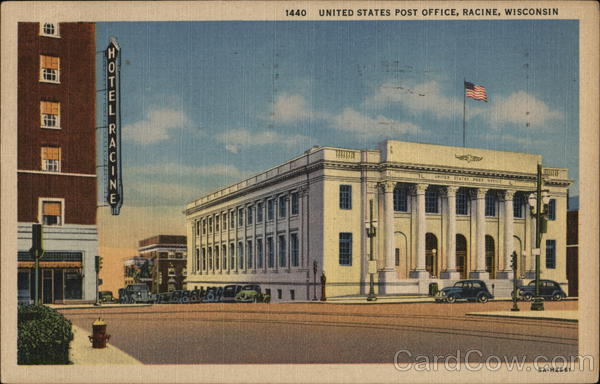 Fort Atkinson (WI) United States  city photos : United States Post Office Racine Wisconsin