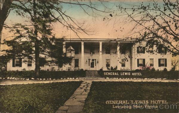 General Lewis Hotel Lewisburg West Virginia