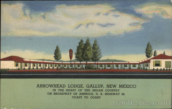 Arrowhead Lodge, Gallup, New Mexico