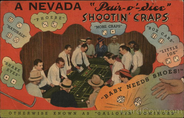 A Nevada Pair-o'-Dice - Otherwise Known as Gallopin' Dominoes Las Vegas