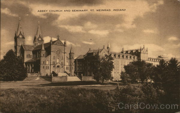 Abbey Church and Seminary St. Meinrad Indiana