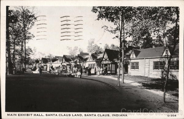Main Exhibit Hall, Santa Claus Land Indiana