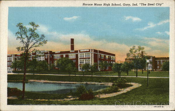 Horace Mann High School Gary Indiana