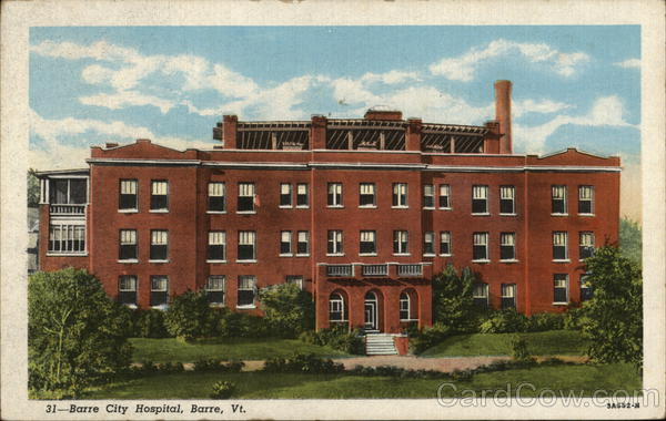 Barre City Hospital Vermont