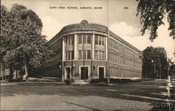 Cony High School Augusta Maine