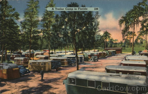 A Trailer Camp in Florida Camping