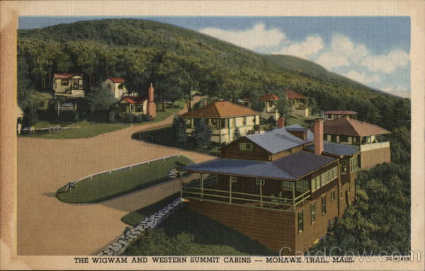 THe Wigwam and Western Summit Cabins, Mohawk Trail North Adams Massachusetts