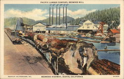Pacific Lumber Comapny, Redwood Mill