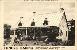 Over 200 Years Old French Canadian Stone House - Henry's Cabins