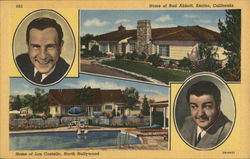 Abbott and Costello and their Homes