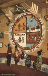 Painting in Indian Watchtower, Desert View