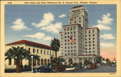 Post Office and Hotel Westward Ho.