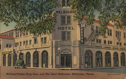 McClure-Fulmer Drug Store and The Hotel Melbourne