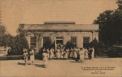U.S. Post Office - C.I.A. Station, Texas State College for Women, C.I.A.
