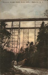 Shawmut Bridge, Stony Brook Glen Postcard