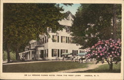 De La Vergne Farms Hotel from the West Lawn