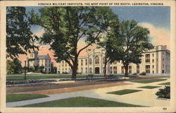 Virginia Military Institute, The West Point of the South Postcard