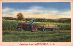 Greetings from Monticello, N. Y.
