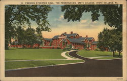 Frances Atherton Hall, The Pennsylvania State College