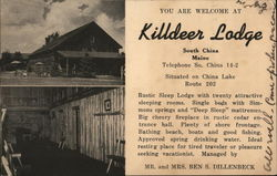 You are Welcome at Killdeer Lodge