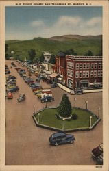 Public Square and Tennessee Street Postcard