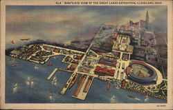 Bird's Eye View of the Great Lakes Exposition