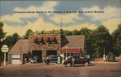 Fairyland Service Station at the Entrance of Rock City Atop Lookout Mountain