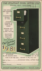 The Economy Steel Letter File, Hobart Cabinet Company
