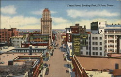 Texas Street, Looking East Postcard