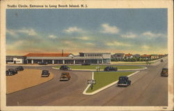 Traffic Circle, Entrance to Long Beach Island, N.J.